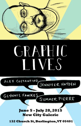 Graphic Lives-Alex