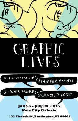 Graphic Lives-Glynnis