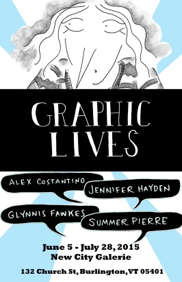 Graphic Lives-Jennifer